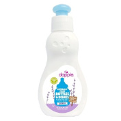 dapple Travel Size Baby Bottle & Dish Liquid, Lavender 3 oz