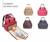 ANYWII Signature Nappy Bag ultra-large capacity Bag Fashion Mommy bag