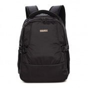 Yoovi Large Capacity Backpack Nappy Bags Waterproof Lightweight, with Changing Mat and Insulated Pockets ---- Black