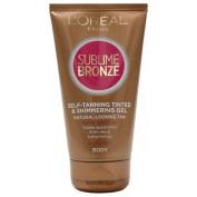 L'Oreal Paris Sublime Bronze Self-Tan Tinted Gel 150ml