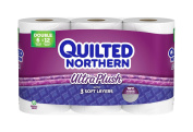 Quilted Northern Ultra Plush Bath Tissue Double Rolls, 6 ct