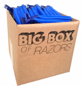 60 Box of Bulk Disposable Twin Blade Razors for Men and Women