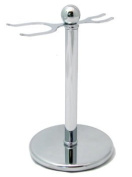Counrty Uncle Shaving Stand - Chrome Safety Razor Stand