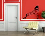 Sexy Woman Fashion Wall Mural Vinyl Art Sticker M009