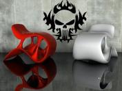 Skull Punisher Decor Wall Mural Vinyl Art Sticker M076