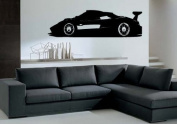 Pagani Zonda R Super Cars Wall Mural Vinyl Art Sticker M029