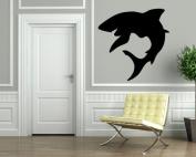Shark Tribal Predator Decor Wall Mural Vinyl Art Sticker M078