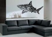 Shark Tribal Decor Wall Mural Vinyl Art Sticker M084