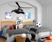 Helicopter Chopper Wall Mural Vinyl Art Sticker Kids Room M039