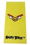 Angry Birds Chuck the Yellow Bird Beach/Bath Towel