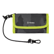 Tenba Reload CF 6 Card Wallet in Camouflage/Lime