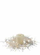 Sullivans 5.7cm Simulated Pearl Beaded Candle Ring