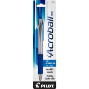 Pilot Acroball Pro Retractable Advanced Ink Ball Point Pen, Medium Point, Blue Ink, 1-Pack