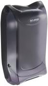 San Jamar H5005P Venue Wall Mount Fullfold Control Napkin Dispenser, 600 Capacity, 20cm Width x 38cm - 1.9cm Height x 18cm - 1.9cm Depth, Black Pearl