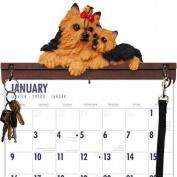 Yorkshire Terrier Calendar Caddy & Leash Hook by DogBreedStore.com