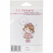 Pollycraft Cling Stamp 8.9cm x 6.4cm -Pixie