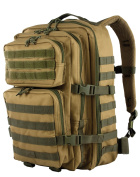 Red Rock Outdoor Gear Large Rebel Assault Pack - Coyote w/ Olive Webbing