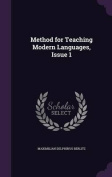 Method for Teaching Modern Languages, Issue 1