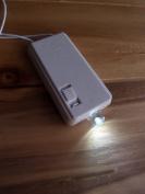 White Single LED Hanging Battery Terminal For Lanterns