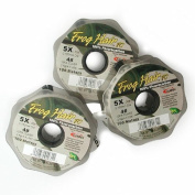 Frog Hair Fluorocarbon Tippet 1X 100m Guide Spool - Fly Fishing