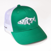 Rep Your Water Hat Michigan Hat, East Lansing Edition - Kelly Green/White