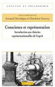 Conscience Et Representation [FRE]