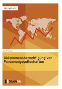 Abkommensberechtigung Von Personengesellschaften [GER]