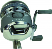 Muzzy Spin Style Bowfishing Reel with Integrated Reel Mount