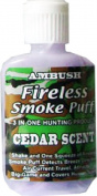 MOCCASIN JOE Cedar Scent Fireless Smoke Puff