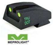 MeproLight Para LDA, Slanted Serr., Post-2007 Rear Sight, Green