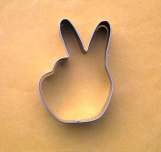 LAWMAN Victory hand sign win fondant biscuit pastry baking cookie cutter