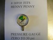 16910 Pressure Gauge Fits Henny Penny Fryer All Models