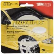 Trimbrite T8000 1/2X36 White Pin Stripe