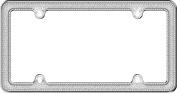 Cruiser Accessories 17533 Chrome/Silver Glitz Licence Plate Frame