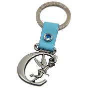 Tinker Bell Letter C Pewter Key Chain