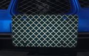 Black & Silver Quatrefoil Pattern Art Aluminium Licence Plate for Car Truck Vehicles