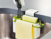 Creative home kitchen shelving storage rack / cleaning supplies