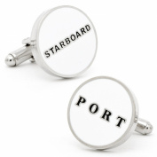 Starboard and Port Cufflinks