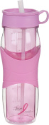 Trudeau Cool Off Pink Double Wall 710ml Hydration Bottle