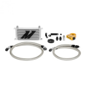 Mishimoto (MMOC-WRX-08T) Silver Thermostatic Oil Cooler Kit for Subaru WRX
