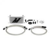 Mishimoto MMOC-WRX-08 Silver Oil Cooler Kit for Subaru WRX