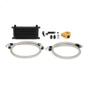 Mishimoto (MMOC-STI-08TBK) Black Thermostatic Oil Cooler Kit for Subaru WRX STI