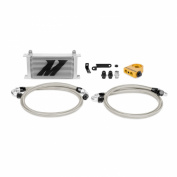 Mishimoto (MMOC-STI-08T) Silver Thermostatic Oil Cooler Kit for Subaru WRX STI