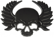 Trimbrite T1929 3D Emblem, Skull Matte