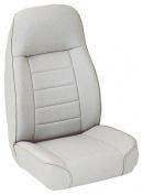 Smittybilt 44911 Standard Bucket Seat - Denim Grey -DrillFree Instal - Front