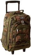 Everest Woodland Camo Wheeled Backpack