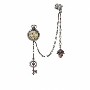 Alchemy of England Steampunk Uncle Albert's Timepiece Ear Cuff Earring Jewellery