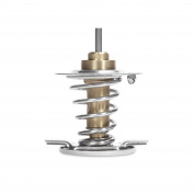 Mishimoto MMTS-F2D-03H Silver High-Temperature Thermostat for Ford 6.0L Powerstroke Engine