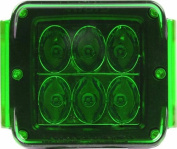 Rigid Industries 20197 Green Protective Polycarbonate Light Cover