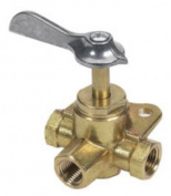 Moeller 1/4 Fnpt Brass 3-way Valve 033302-10